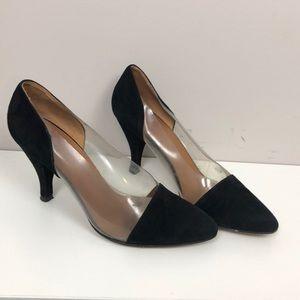 Giorgio Armani PVC heels